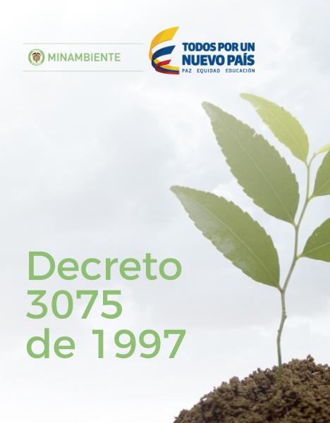 Decreto 3075 1997