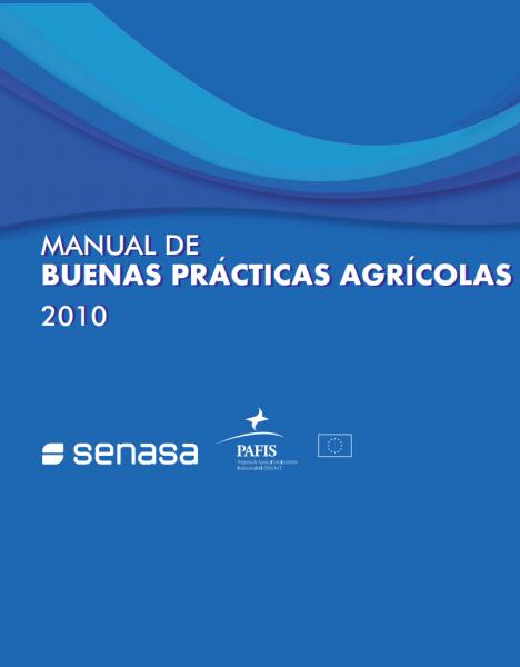 Manual de buenas prácticas agrícolas SENASA