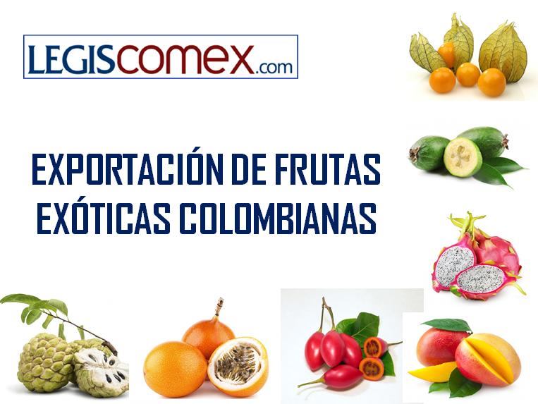 Exportación de Frutas Exóticas Colombia