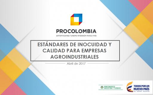 Estándares de Inocuidad para Empresas Agroindustriales